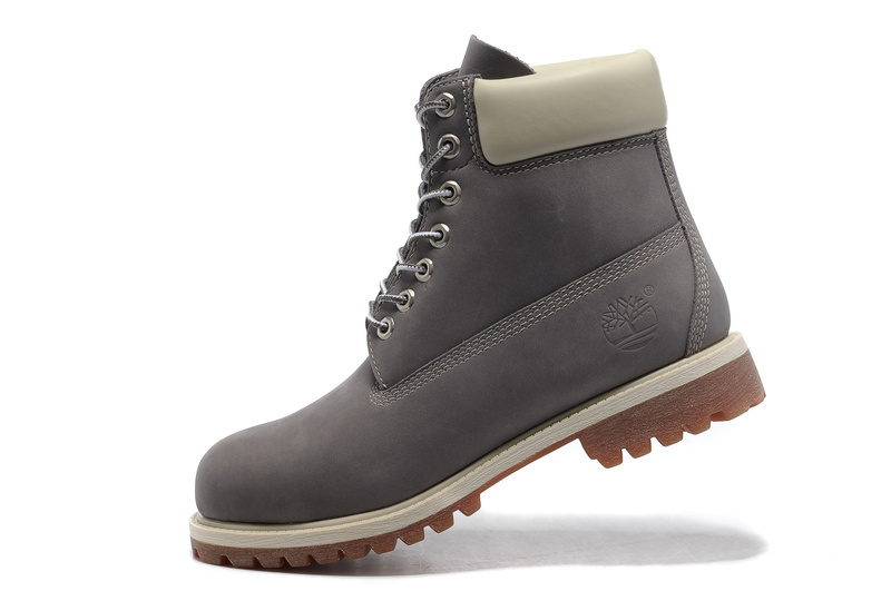 timberland grise et blanche